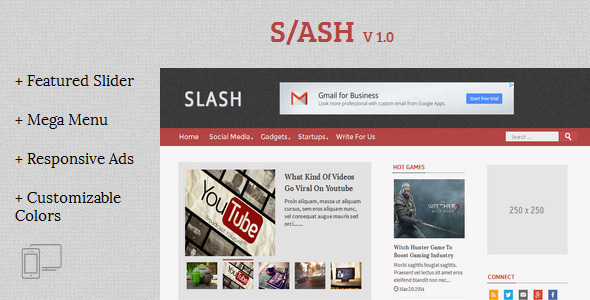 Slash-Tech-Magazine-Blogger-Template