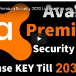 Avast Premium internet security 2020 license key Till 2033